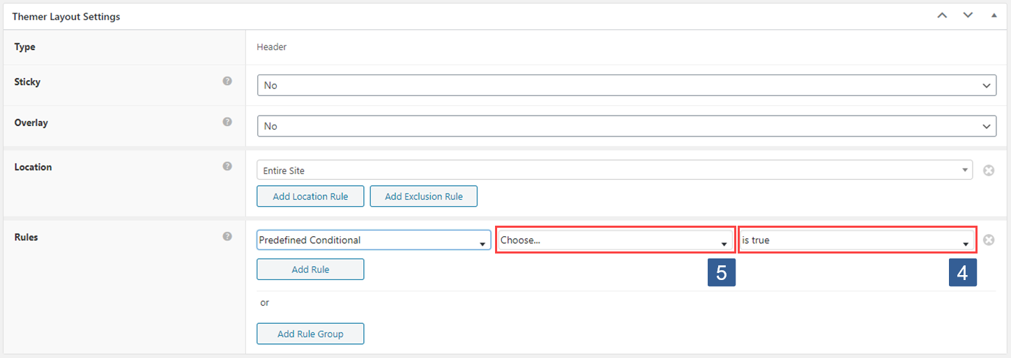 Steps to select Beaver Themer rule using ActiveMember360 conditional to control Beaver Themer layout display